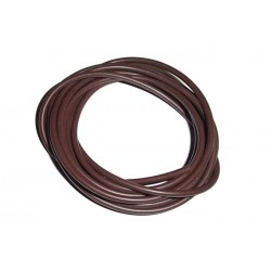 Brown Silicone rig tubing - 2 metre pack