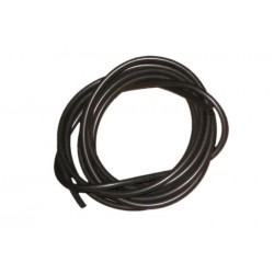 Black Silicone rig tubing - 2 metre pack