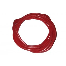 Red Silicone rig tubing - 2 metre pack
