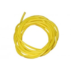 Yellow Silicone rig tubing - 2 metre pack