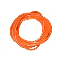 Orange Silicone rig tubing - 2 metre pack