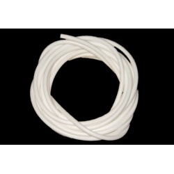 White Silicone rig tubing - 2 metre pack