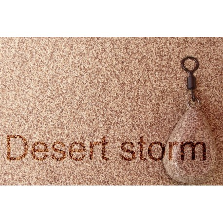 Desert storm camo lead coating powder