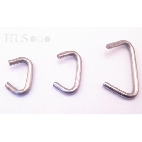 Hog rings - Stainless steel