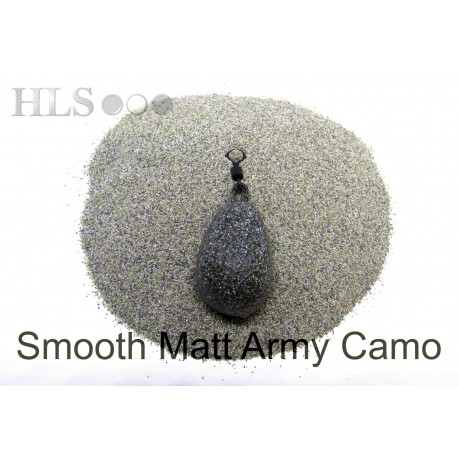 SMOOTH MATT Army camo coating powder