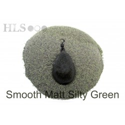 SMOOTH MATT Silty green coating powder