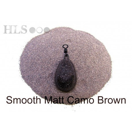 SMOOTH MATT Camo brown coating powder