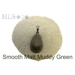 SMOOTH MATT Muddy green coating powder