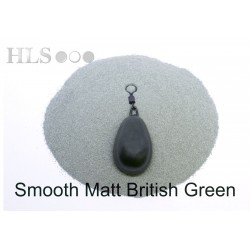 SMOOTH MATT British Green coating powder