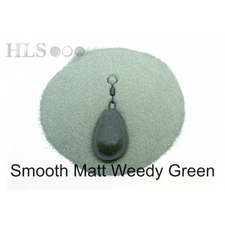 SMOOTH MATT Weedy Green camo coating powder