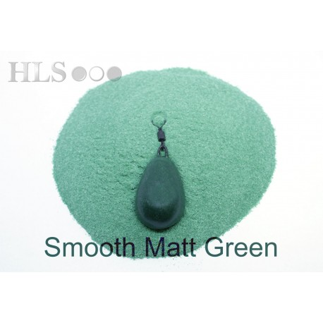 SMOOTH MATT Green coating powder