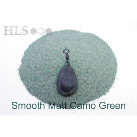 SMOOTH MATT Camo Green coating powder