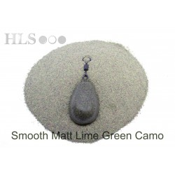 SMOOTH MATT Lime Green Camo coating powder