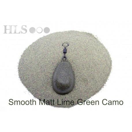 SMOOTH MATT Lime Green Camo coating powder