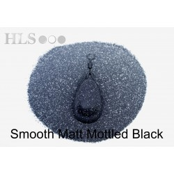 SMOOTH MATT Mottled Black coating powder