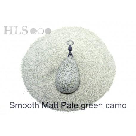 SMOOTH MATT Pale green Camo coating powder