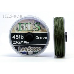 Leadcore Green - 45lb x 10m